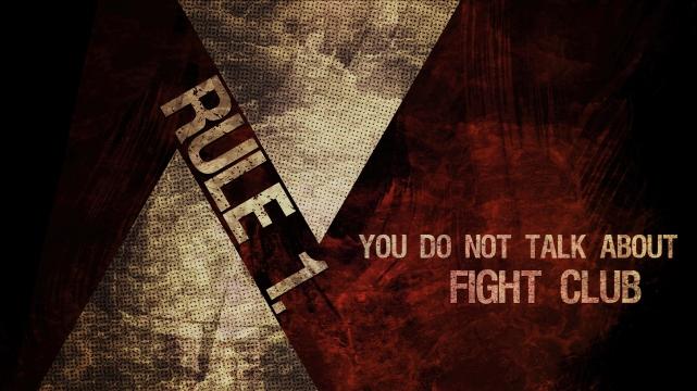 'Fight Club' Wallpaper