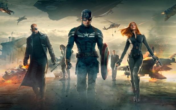 'Captain America: The Winter Soldier' Wallpaper