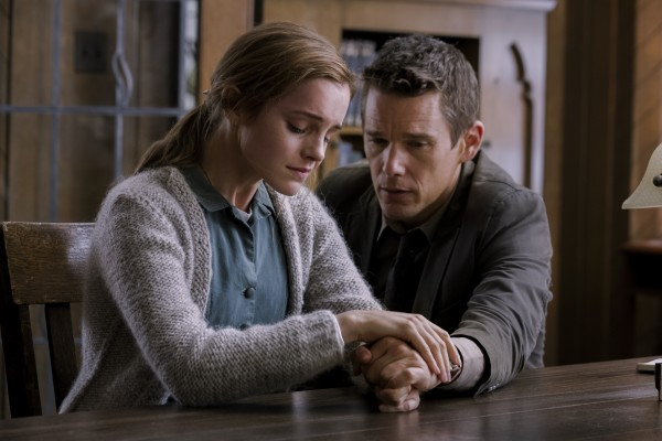 Ethan Hawke & Emma Watson in 'Regression'