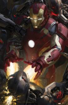 Iron Man 'Age of Ultron' Concept Art Poster
