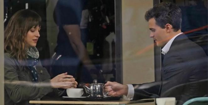 Dakota Johnson & Jaime Doran in '50 Shades of Grey'