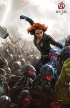 Black Widow 'Age of Ultron' Concept Art Poster