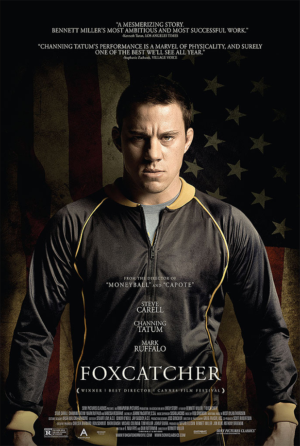 new �foxcatcher� poster � channing tatum as olympic
