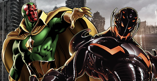 Marvel-The-Vision-and-Ultron