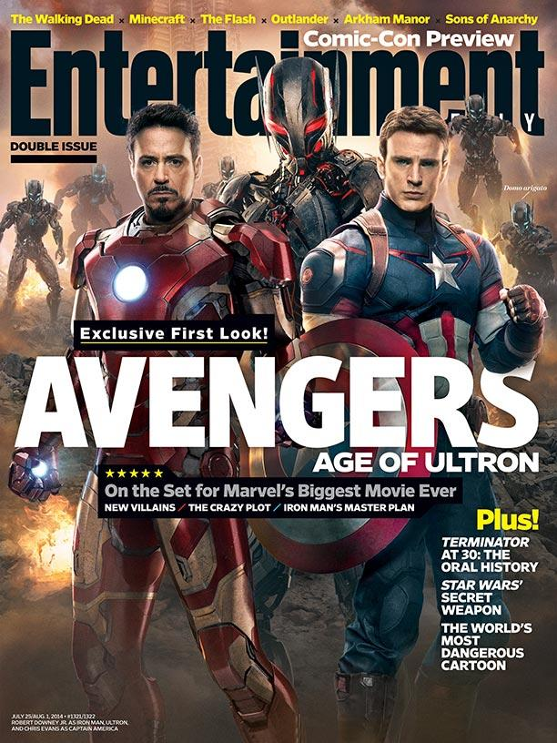 'Avengers: Age of Ultron' EW Cover