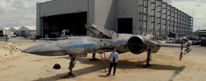 Rebel X-Wing in 'Episode VII'