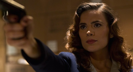 Haley Atwell in 'Agent Carter'