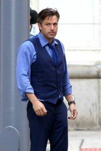 Ben Affleck on set of 'Batman V Superman'