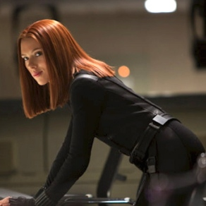 Scarlett Johansson in 'Captain America: The Winter Soldier'