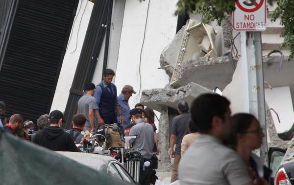 On Set 'Batman V Superman'