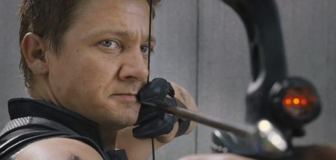 Jeremey Renner in 'The Avengers'
