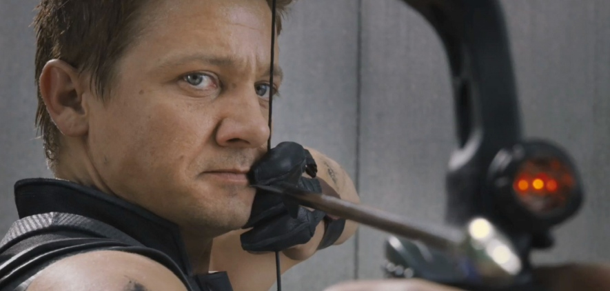 Jeremey Renner in 'The Avengers'