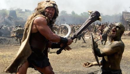 Dwayne Johnson in 'Hercules'