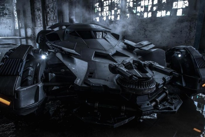 'Batman V Superman' Batmobile