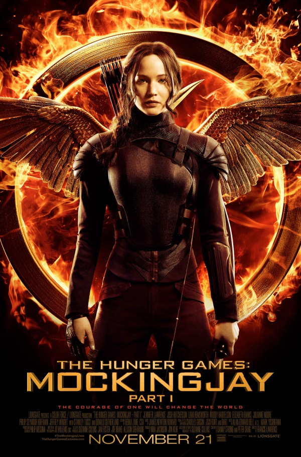'The Hunger Games: Mockingjay - Part 1' Poster