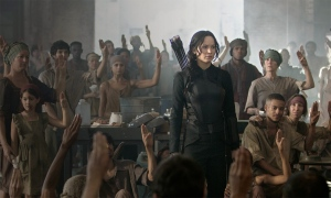 Jennifer Lawrence in 'Mockingjay - Part 1'