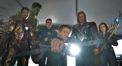 Cast of 'The Avengers'