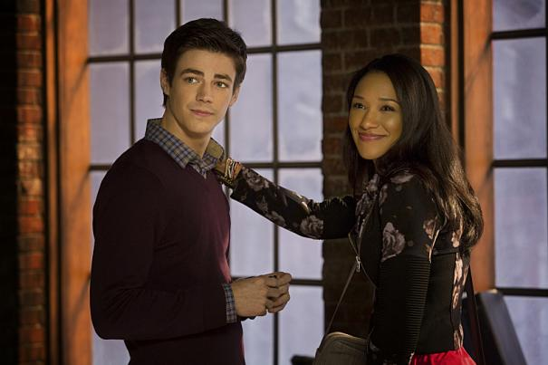 'The Flash' Image 3: Here is Barry Allen and his love interest from the comics, and now the TV show, Iris West.