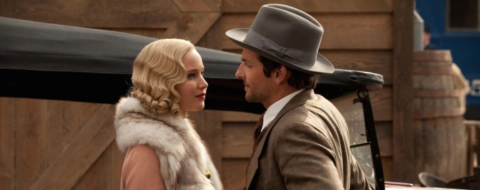 Jennifer Lawrence & Bradley Cooper in 'Serena'