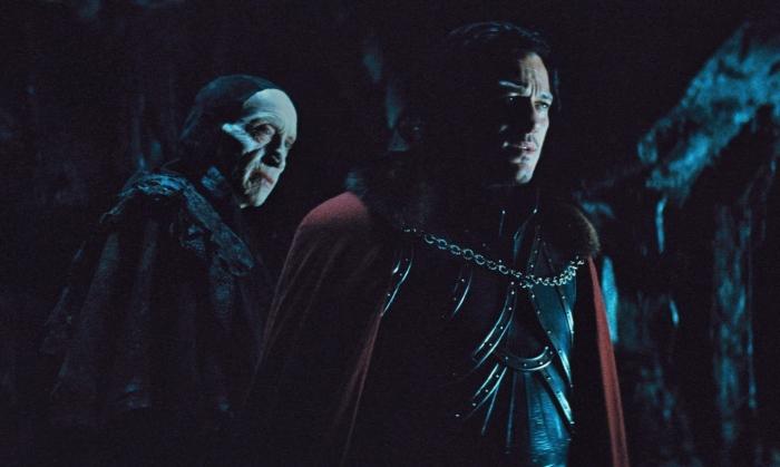 Charles Dance & Luke Evans in 'Dracula Untold'