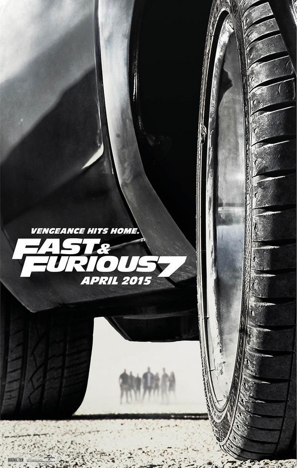 'Furious 7' Teaser Poster