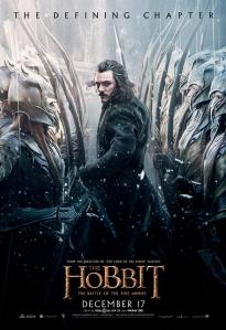 'The Battle of Five Armies' Bard Poster