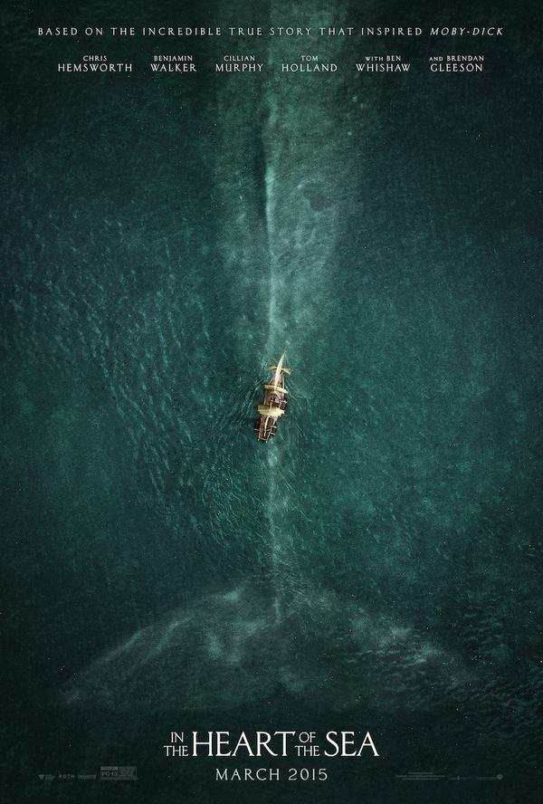 'In the Heart of the Sea' Poster