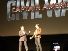 Robert Downey Jr. & Chris Evans for 'Captain America: Civil War'