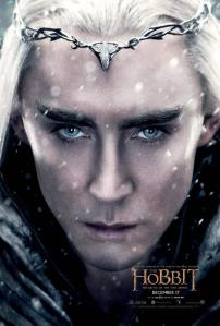 'The Battle of Five Armies' Thranduil Poster