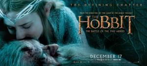 'The Battle of Five Armies' Gandalf & Galadriel Banner