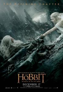 'The Battle of Five Armies' Gandalf & Galadriel Poster