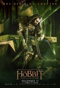 'The Battle of Five Armies' Thorin Poster