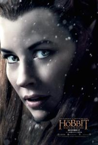 'The Battle of Five Armies' Tauriel Poster