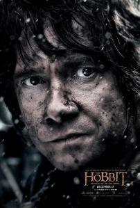 'The Battle of Five Armies' Bilbo Poster