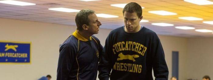 Steve Carell & Channing Tatum in 'Foxcatcher'
