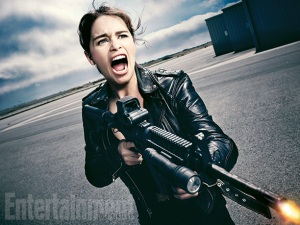 Emilia Clarke as Sarah Connor