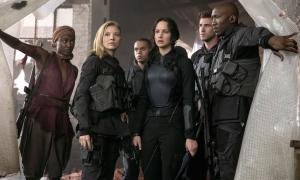 Cast of 'Mockingjay - Part 1'