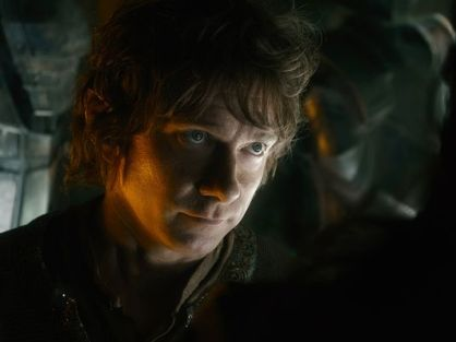 Martin Freeman in 'The Battle of the Five Armies'