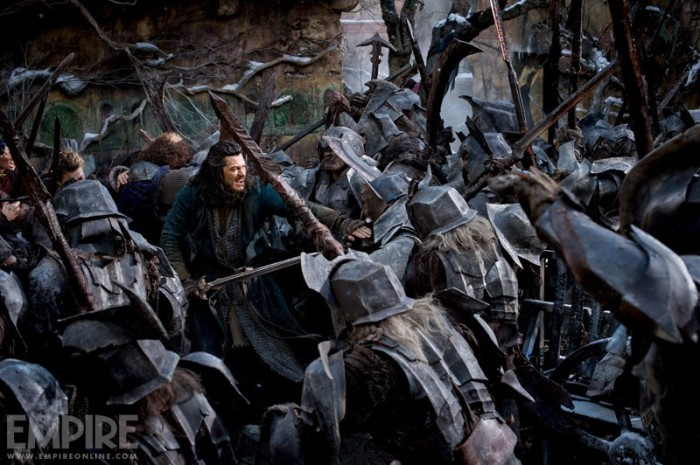 Luke Evans in 'The Battle of the Five Armies'