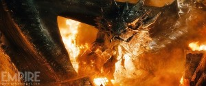 Smaug in 'The Battle of the Five Armies'