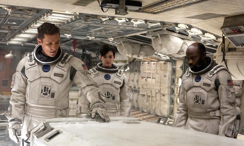 Matthew McConaughey, Anne Hathaway & David Gyasi in 'Interstellar'