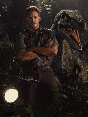 Chris Pratt for 'Jurassic World'