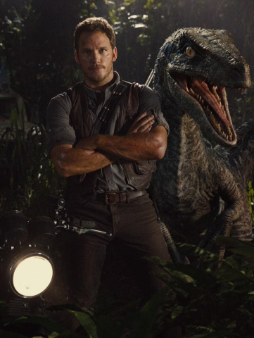 Chris Pratt for 'Jurassic World'