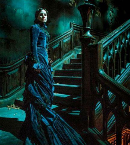 Jessica Chastain in 'Crimson Peak'