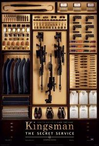 'Kingsman: The Secret Service' Poster
