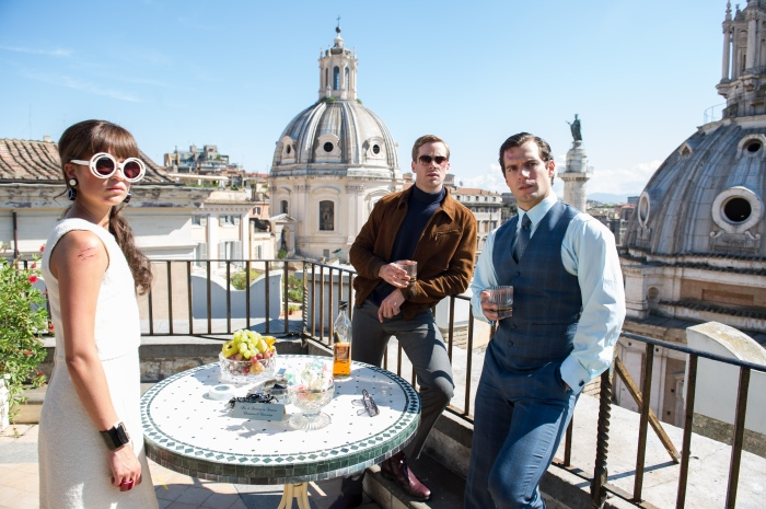 Alicia Vikander, Armie Hammer & Henry Cavill in 'The Man from U.N.C.L.E.'