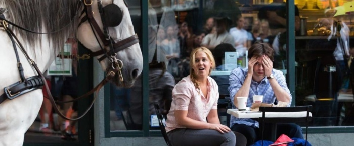Amy Schumer & Bill Hader in 'Trainwreck'
