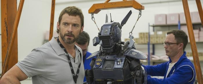 Hugh Jackman in 'Chappie'