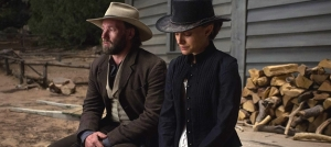 Joel Edgerton & Natalie Portman in 'Jane Got a Gun'