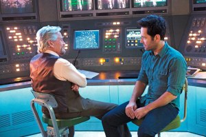 Michael Douglass & Paul Rudd in 'Ant-Man'